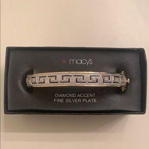 Brand new Macy's Diamond Accent Bracelet